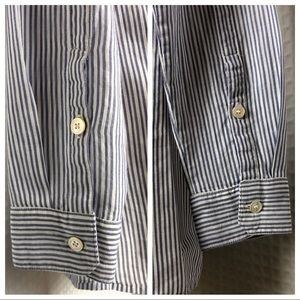 Burberry Tops - Burberry Brit Button Down Long Sleeve Top XS = 4